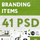 Branding Items Mock-up for guidelines. 41 PSD - GraphicRiver Item for Sale