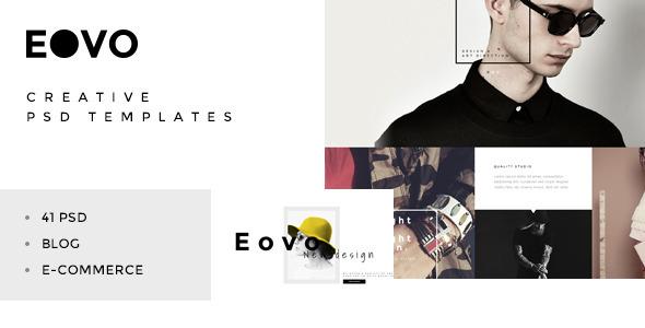 EOVO - Creative PSD Template - Creative PSD Templates