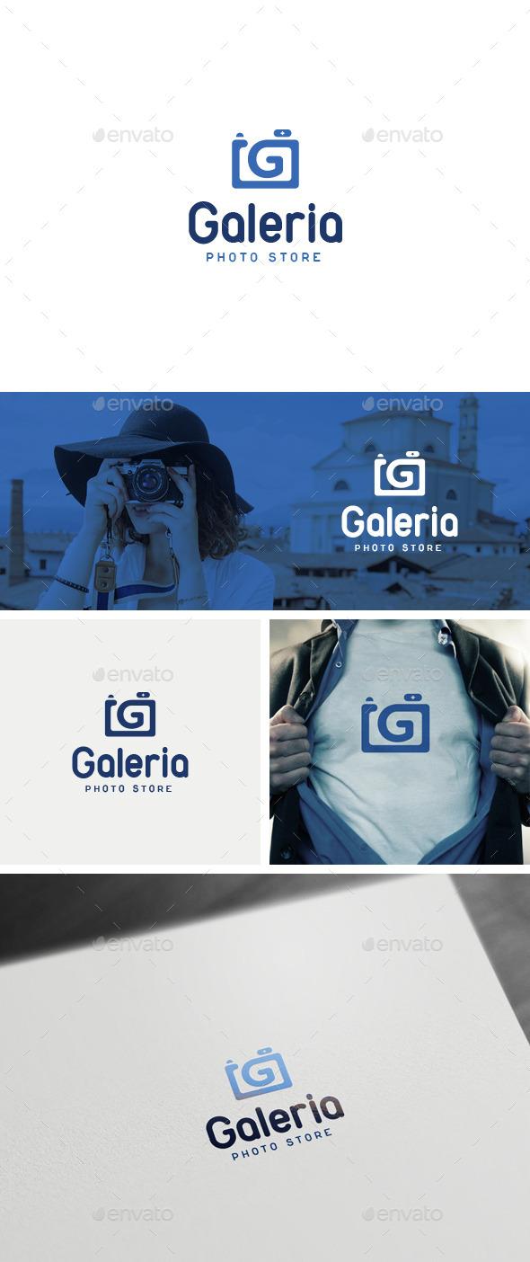 Galeria Logo Template - Logo Templates