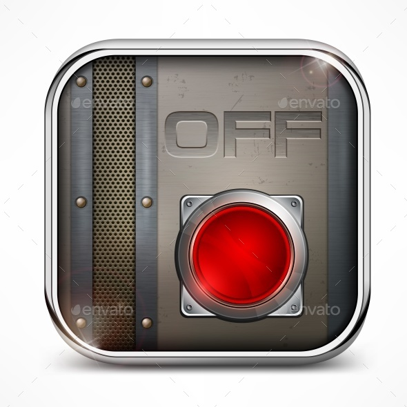 Off Switch Button - Miscellaneous Vectors