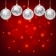 Silver Balls With Snowflakes Ornament - GraphicRiver Item for Sale
