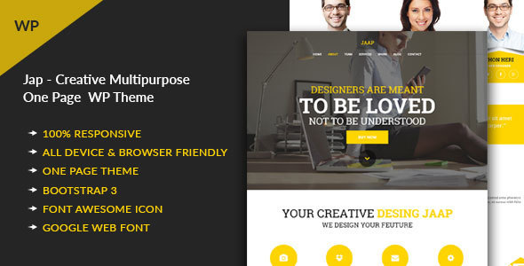 Jaap – Creative MultiPurpose WordPress Theme