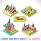Farm Tiles 01 Set Isometric - GraphicRiver Item for Sale