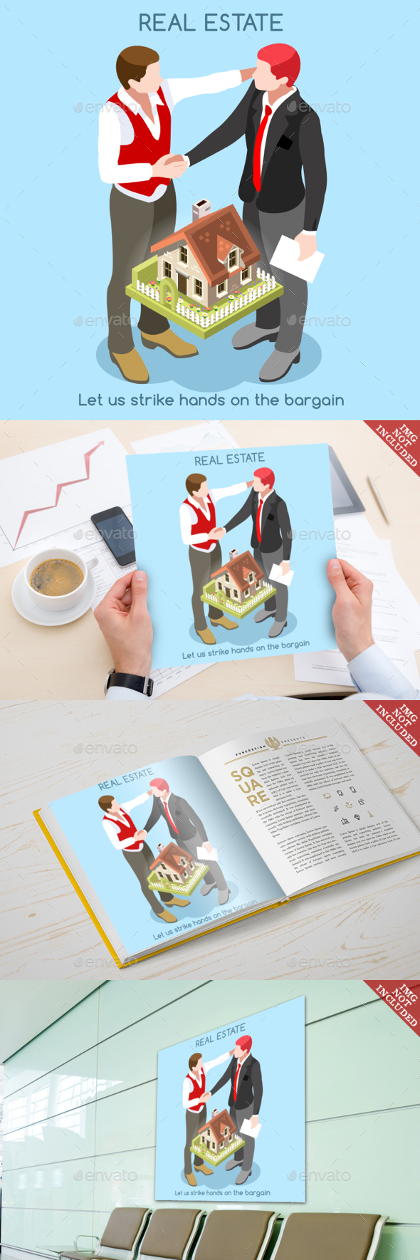 Real Estate 01 People Isometric - Concepts Business