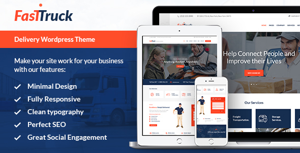 Fast Truck - Transportation & Logistics Theme