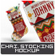Christmas Stocking Mock-Up - GraphicRiver Item for Sale