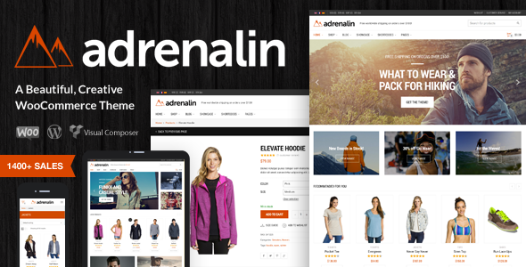 Adrenalin - Multi-Purpose WooCommerce Theme - WooCommerce eCommerce