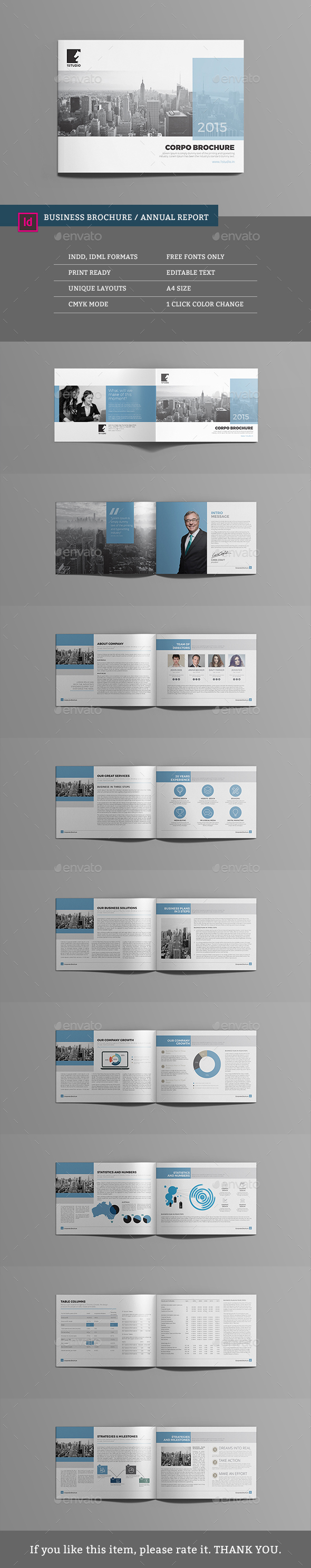 Business Brochure / Annual Report - Corporate Brochures