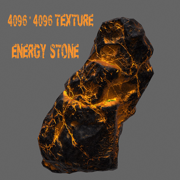 Glowing_Rock_ - 3DOcean Item for Sale