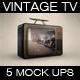 Vintage Tv 1974 Mock Up