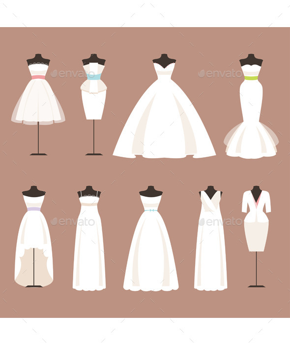 Styles of Wedding Dresses - Weddings Seasons/Holidays