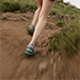 Cross Country Trail Running on Rugged Terrain - VideoHive Item for Sale