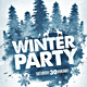 Winter Party / Festival - GraphicRiver Item for Sale