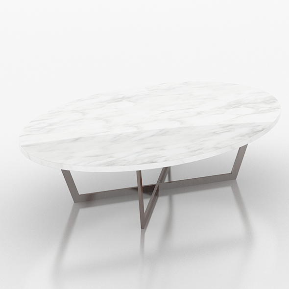 Stone marble sofa table - 3DOcean Item for Sale