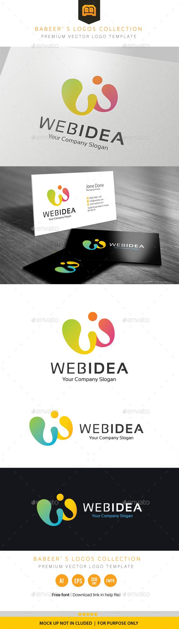 Web Idea logo - Logo Templates