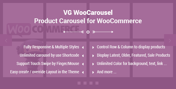 VG WooCarousel Product Carousel for WooCommerce