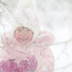 Child Playing With Snow In Winter - VideoHive Item for Sale
