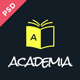 Academia - Educational PSD Template Nulled