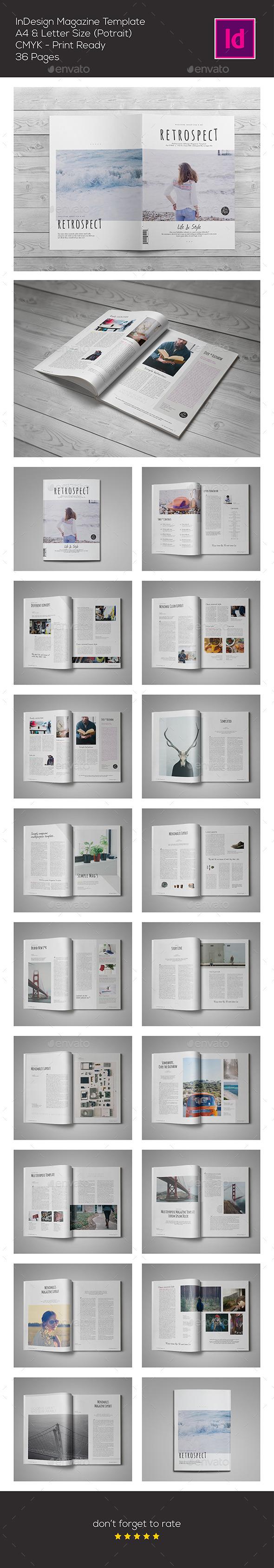 Multipurpose InDesign Template - Magazines Print Templates