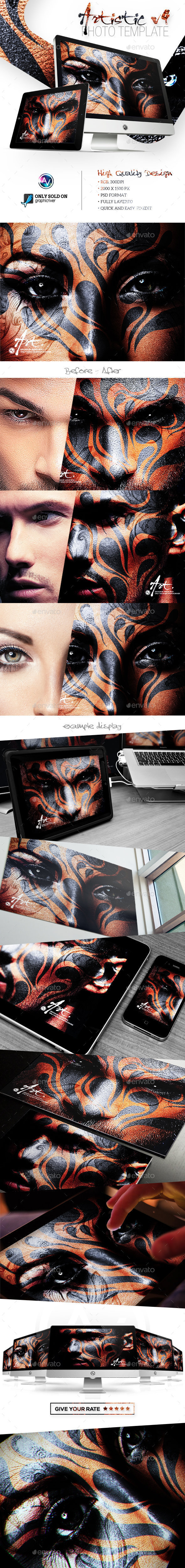Artistic Photo Template V5 - Artistic Photo Templates
