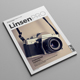 Linsen PRO Magazine Template - GraphicRiver Item for Sale