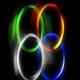 Glow Rings Seamless Loop - VideoHive Item for Sale