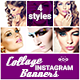 Collage Instagram Banners - GraphicRiver Item for Sale