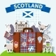 Scotland Travel Background - GraphicRiver Item for Sale