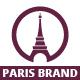 Paris Brand logo - GraphicRiver Item for Sale