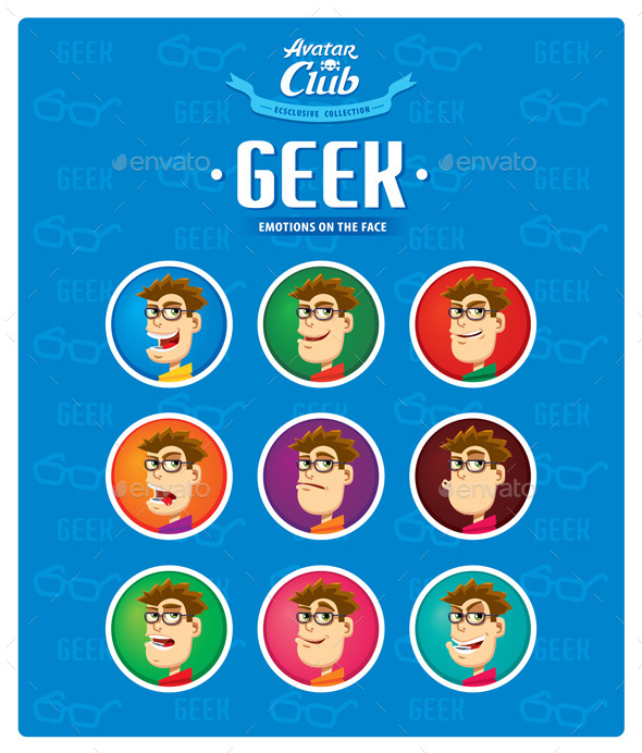 Geek Avatar - People Characters