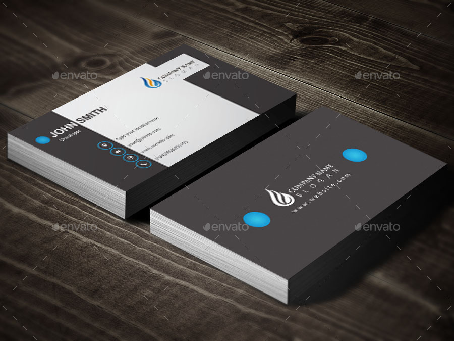 cool business card design by graphicsdesignstudio