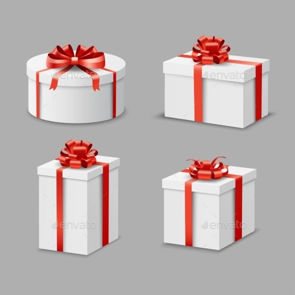 Present Box Set - Objects Vectors