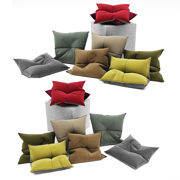 Pillows collection 102 - 3DOcean Item for Sale