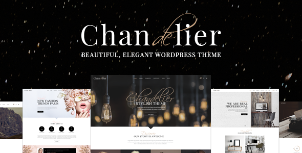 Chandelier - A Theme Designed for Custom Brands