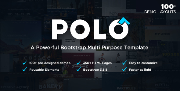 Polo – Responsive Multi-Purpose HTML5 Template
