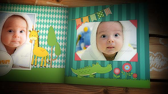 Family Memories – Baby Photo Album