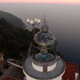 Lighthouse Aerial Shot View at Sunset - VideoHive Item for Sale