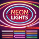 Neon Lights Decoration Set - GraphicRiver Item for Sale