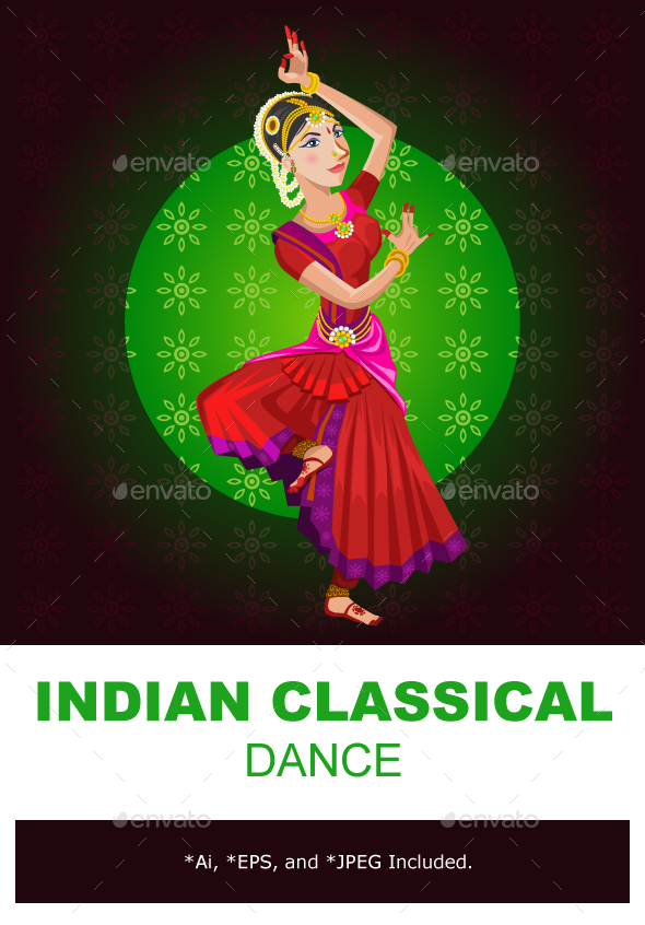 Indian Classical Dance - Sports/Activity Conceptual