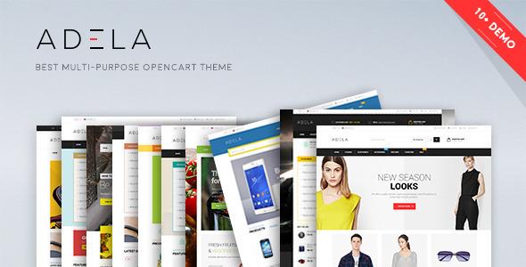 Lexus Adela Opencart 2 Themes - Shopping OpenCart