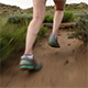 Woman Trail Running on High Desert Path - VideoHive Item for Sale