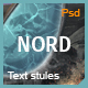 Cinematic Text & Logo Effect - NORD - GraphicRiver Item for Sale