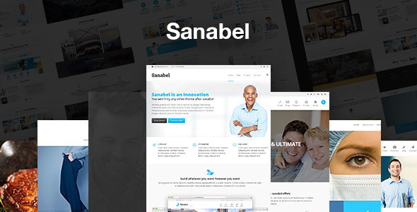 Sanabel Corporate - Corporate Theme - Business Corporate
