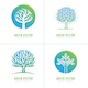Tree Emblems - GraphicRiver Item for Sale