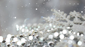 Silver Christmas decorations background - PhotoDune Item for Sale
