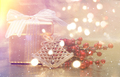 Retro Christmas snowy background - PhotoDune Item for Sale
