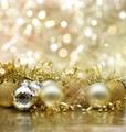 Golden Christmas background - PhotoDune Item for Sale