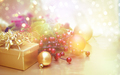 Christmas decorations background with vintage effect - PhotoDune Item for Sale