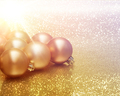 Christmas baubles background - PhotoDune Item for Sale