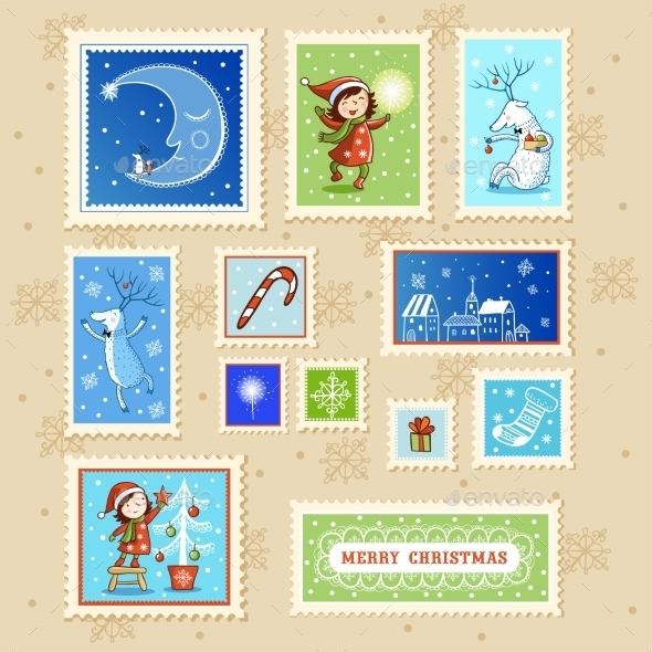 Christmas Card With Textbox. - Christmas Seasons/Holidays
